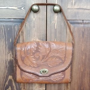 Handbags - Vintage leather hand/shoulder bag